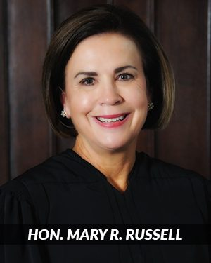 Supreme Court Justice Mary R. Russell